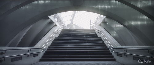 Liège Guillemins - vers la lumière - c2