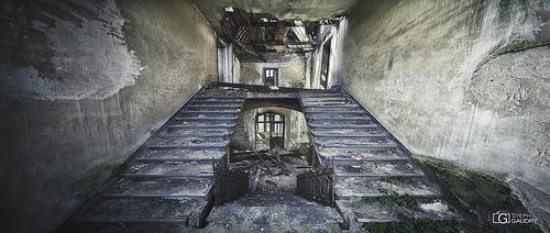 Château de Messen - escalier