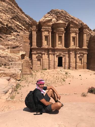 Petra - en face d'al-Deir (Petra)