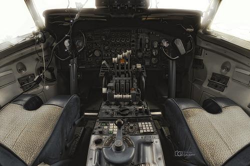 Cockpit Boeing 707 - img2