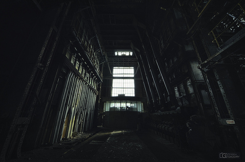 ECVB, alone in the dark