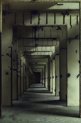 Corridor de la centrale (coupe feu?)
