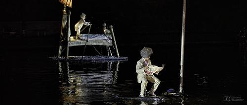 Lire, c'est s'évader dans un autre monde - Metamorphoses - Les fous du bassin