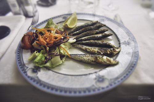 Sardines à la plancha... Mmmmmm
