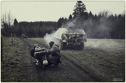 Mouvements des troupes allemandes - vintage