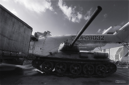 Protected by tank