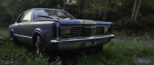 Ford abandonnée (Tilt shift)