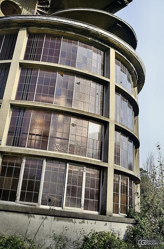 La rotonde ouest du sanatorium