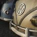 Thumb Coucher de soleil sur les anciens minibus VW