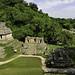 Thumb Palenque - Le Temple du Soleil, et au loin la tour d'observatoire