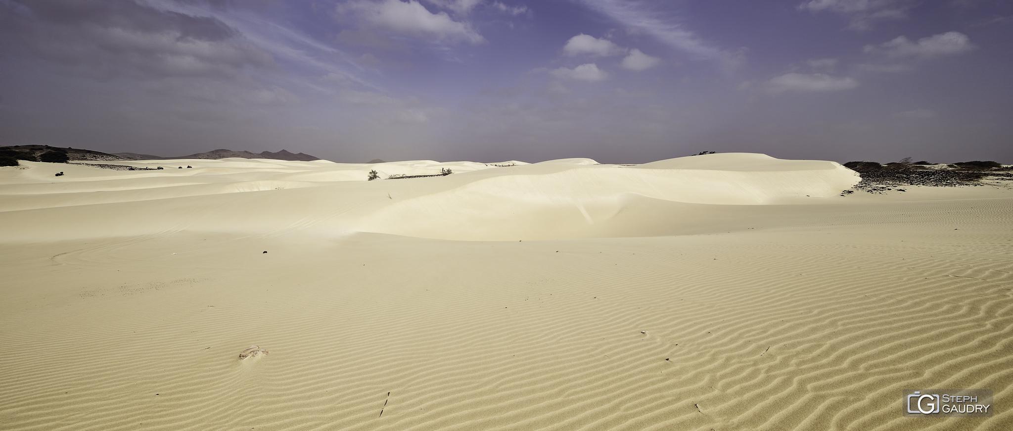 Désert blanc de Boa Vista [Klik om de diavoorstelling te starten]
