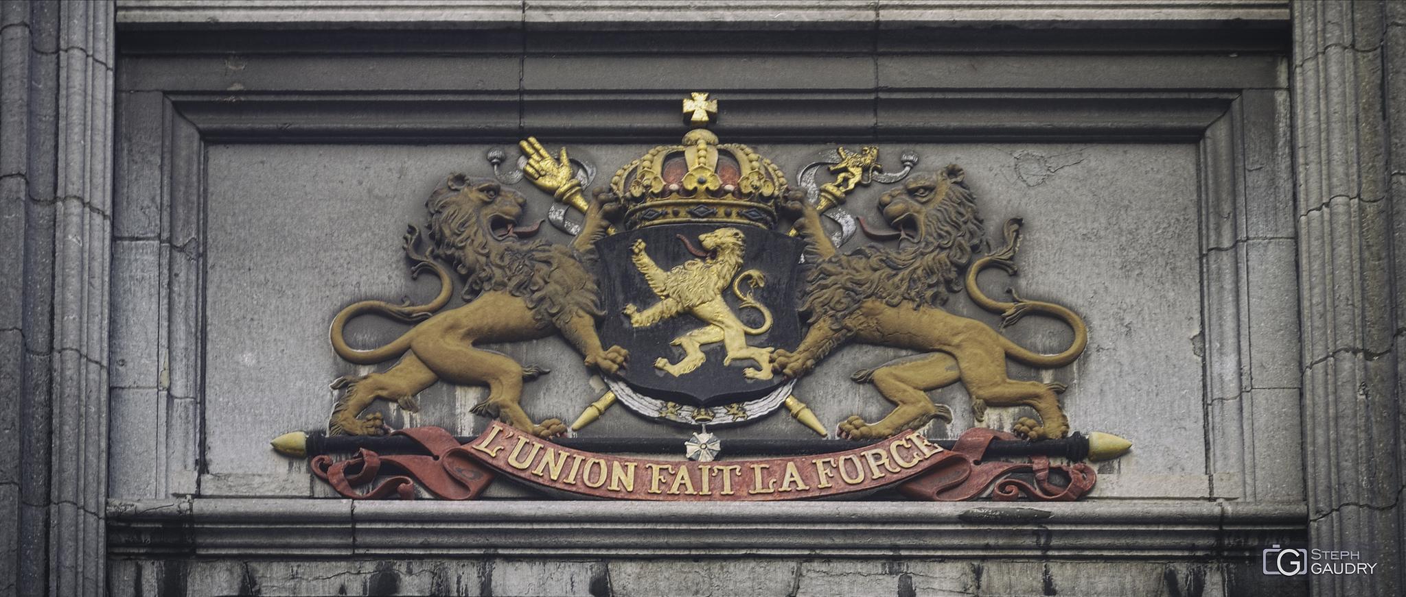 La Grand Poste de Liège - L'union fait la force [Cliquez pour lancer le diaporama]
