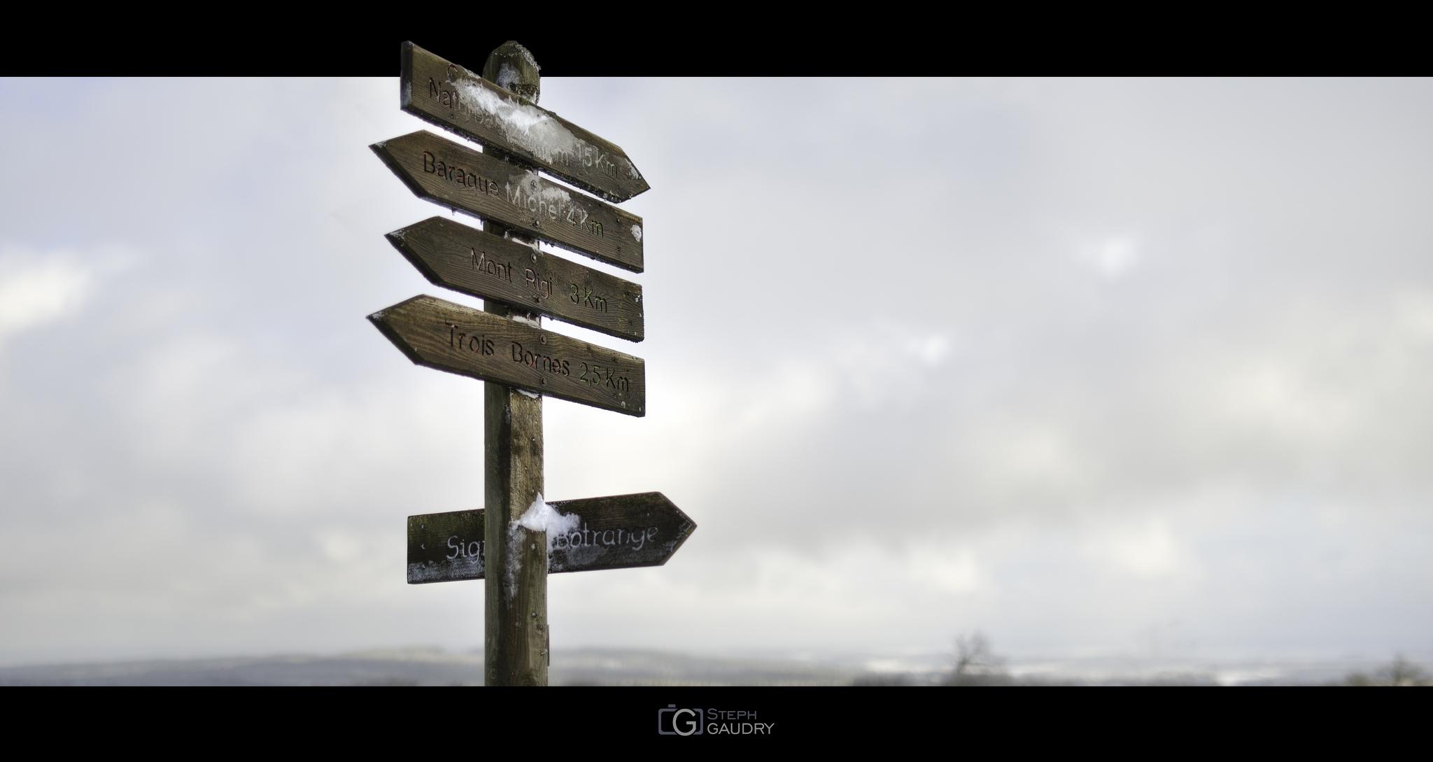 Signal de Botrange - Trois Bornes - Mont Rigi - Baraque Michel - Centre nature [Cliquez pour lancer le diaporama]
