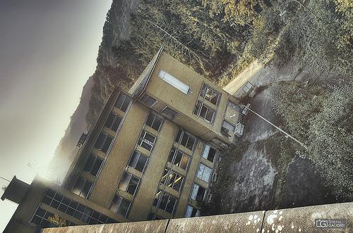 Sanatorium vu du toit