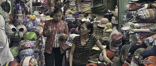 Marché à côté de Binh Tay