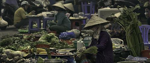Marché à Quan Cai Rang (Can Tho)