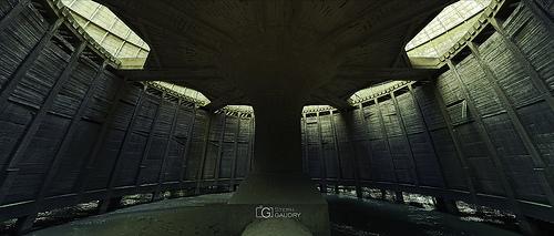 Under the death star - cinemascope