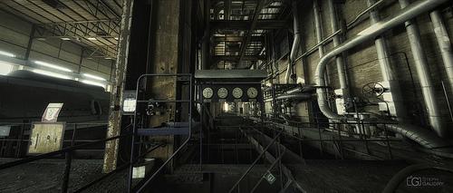 ECVB - cadrans de l'étage de la turbine