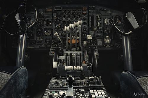 Cockpit Boeing 707 - img1