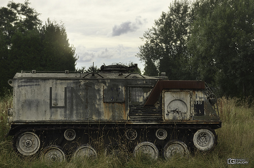 Armored personnel carrier M75