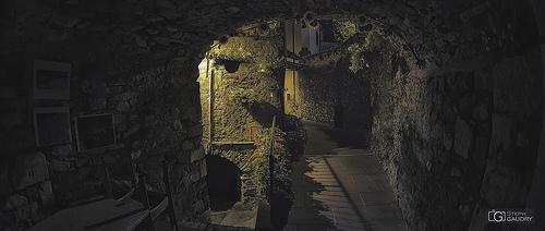 Corsie Colonnata della notte