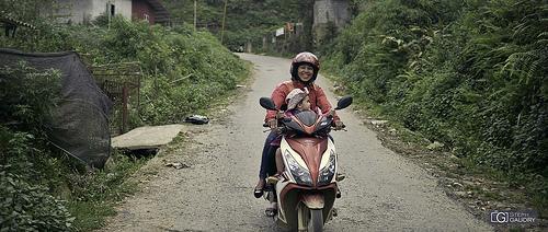Vietnam - les joies du scooter