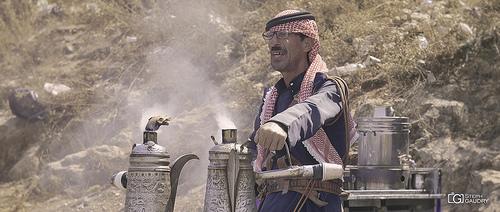 Ajlun - Vendeur de thé