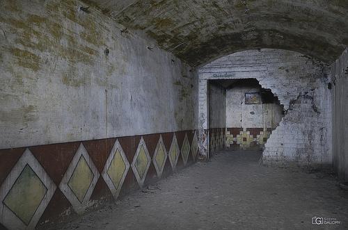 Logement officiers (chambre du Cdt) dans l'ancienne poudrière de gauche.