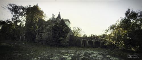 Les écuries du château de Noisy