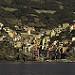 Miniature Riomaggiore vista dal mare