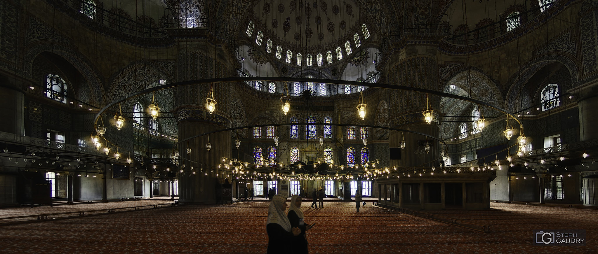 Sultan Ahmet Camii [Click to start slideshow]