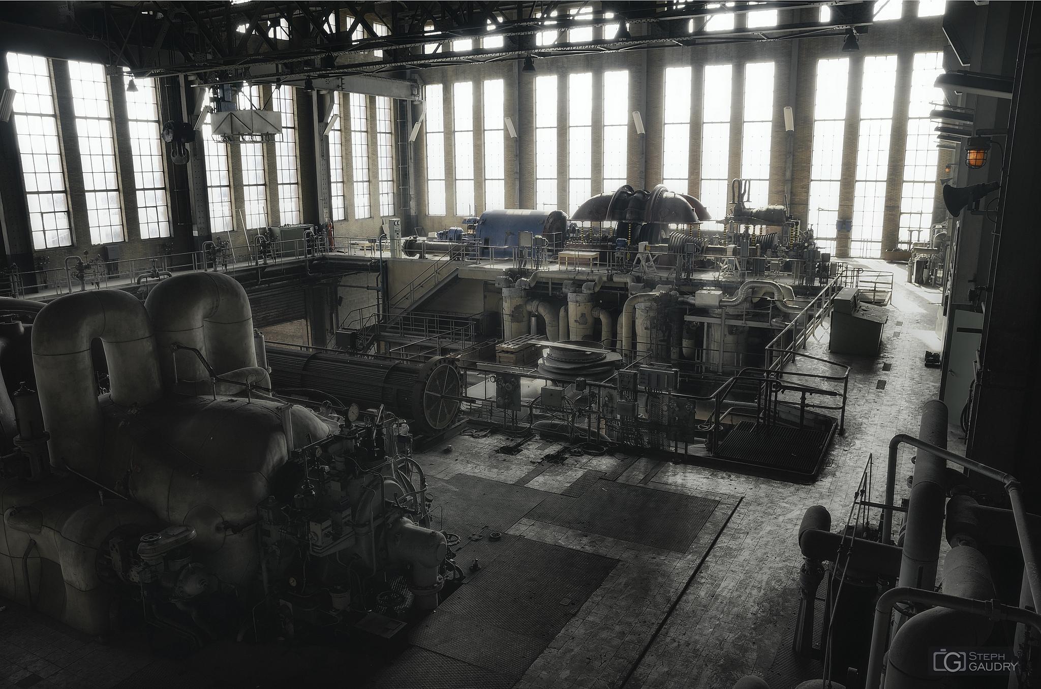 Turbine and generator rotor [Click to start slideshow]