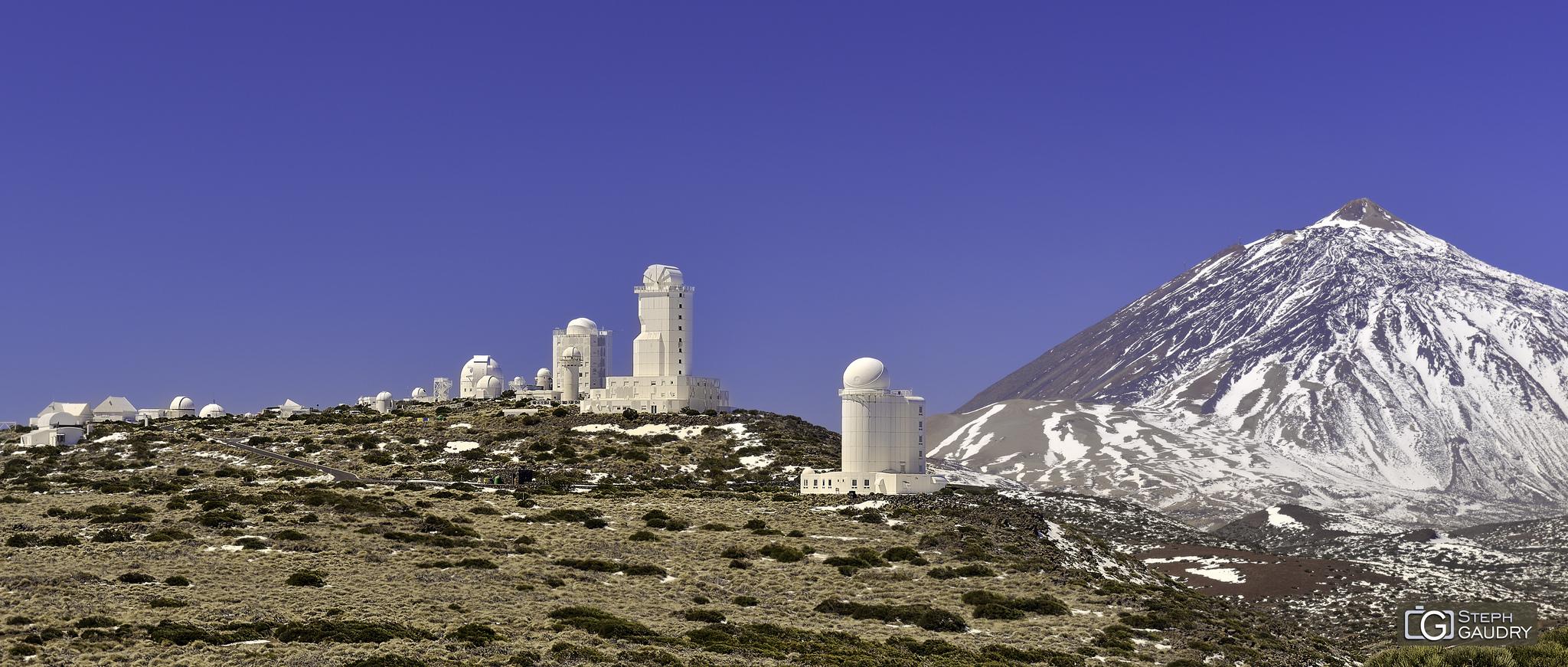 Les observatoires du Teide [Klik om de diavoorstelling te starten]