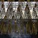 Thumb Spirales d'encens au plafond du temple