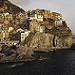 Miniature Tramonto a Manarola nelle Cinque Terre (ITA)