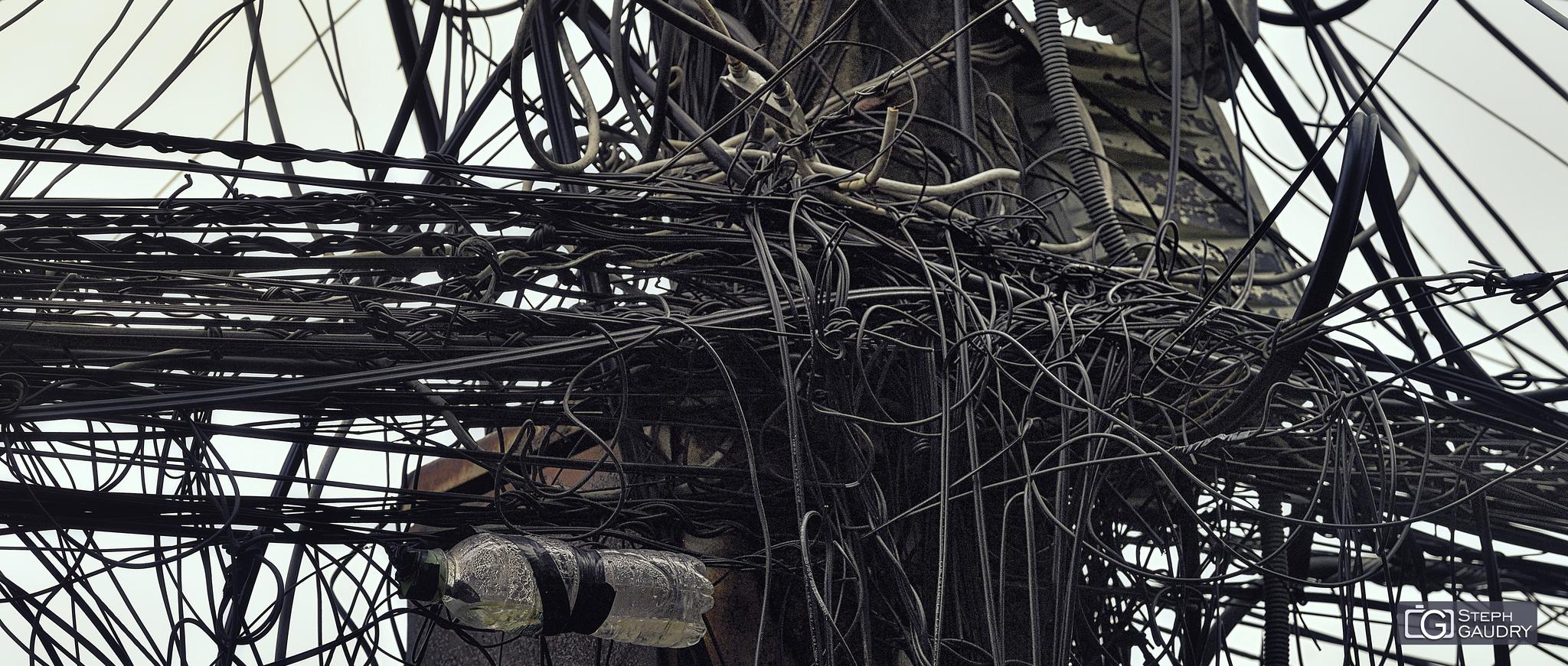 Spaghetti électrique
