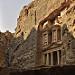 Miniature Petra - la Khazneh - vue latérale