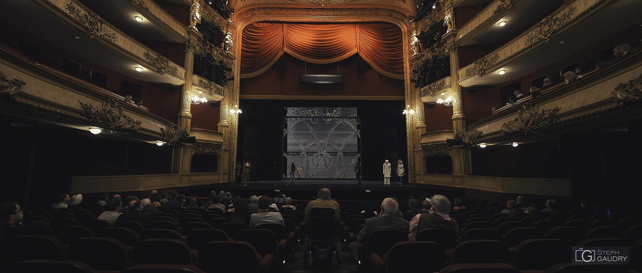 Opéra de Liège - Fleur de Peau [Cliquez pour lancer le diaporama]