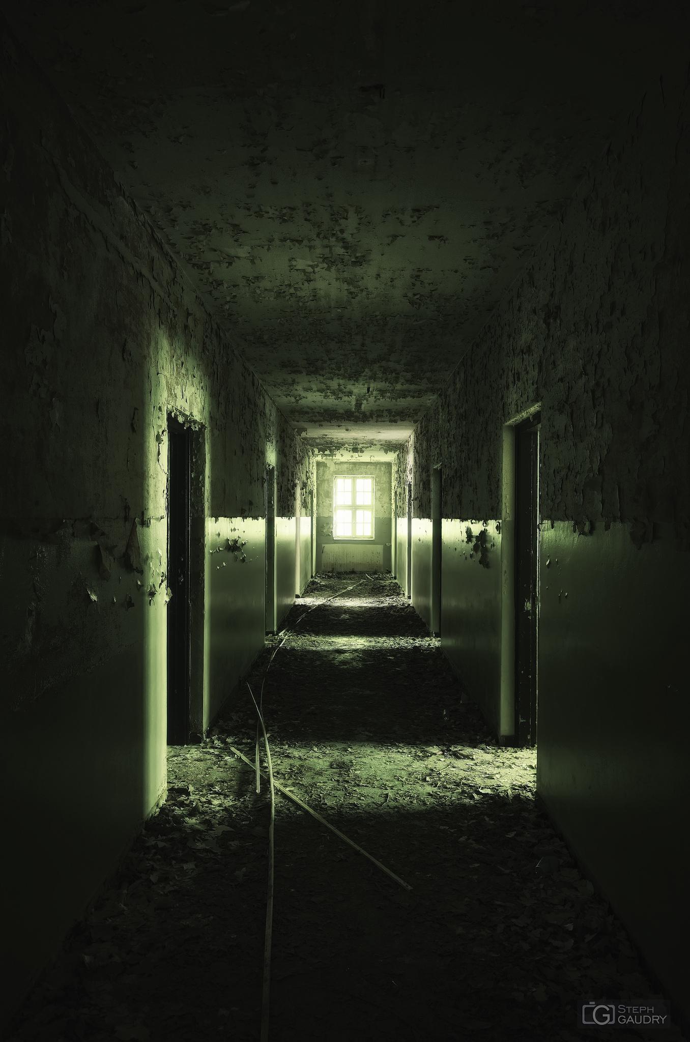 Obsédé par cette froide lumière au bout du couloir... [Klik om de diavoorstelling te starten]
