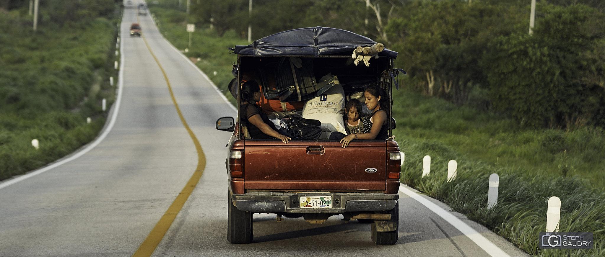 Sur la route de Chiapas (MEX) [Klicken Sie hier, um die Diashow zu starten]