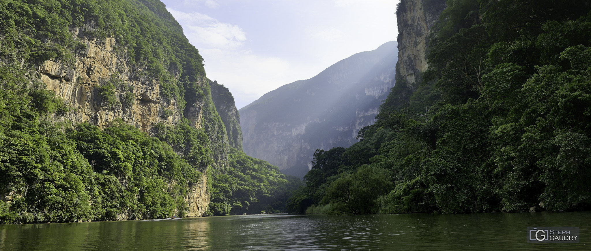 Canyon du Sumidero (MEX) [Cliquez pour lancer le diaporama]