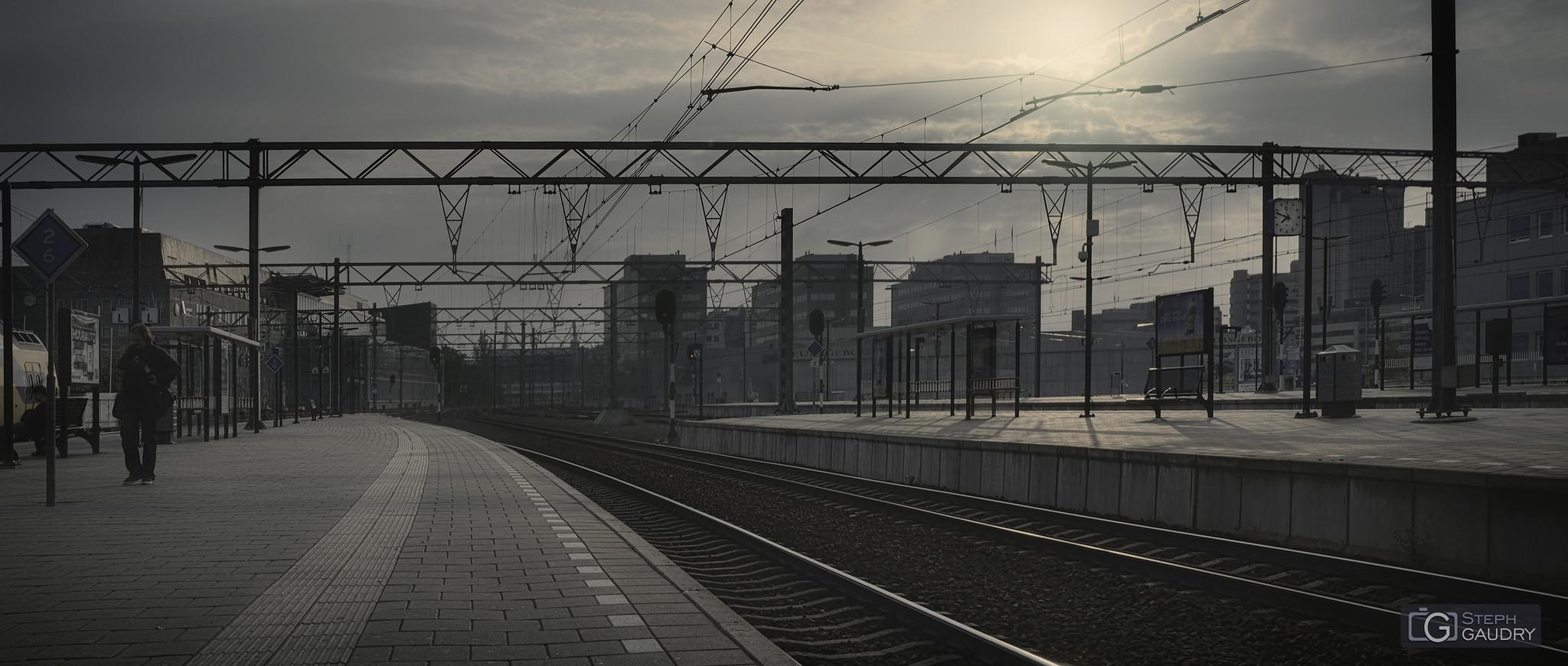 Eindhoven, les quais de la gare [Click to start slideshow]