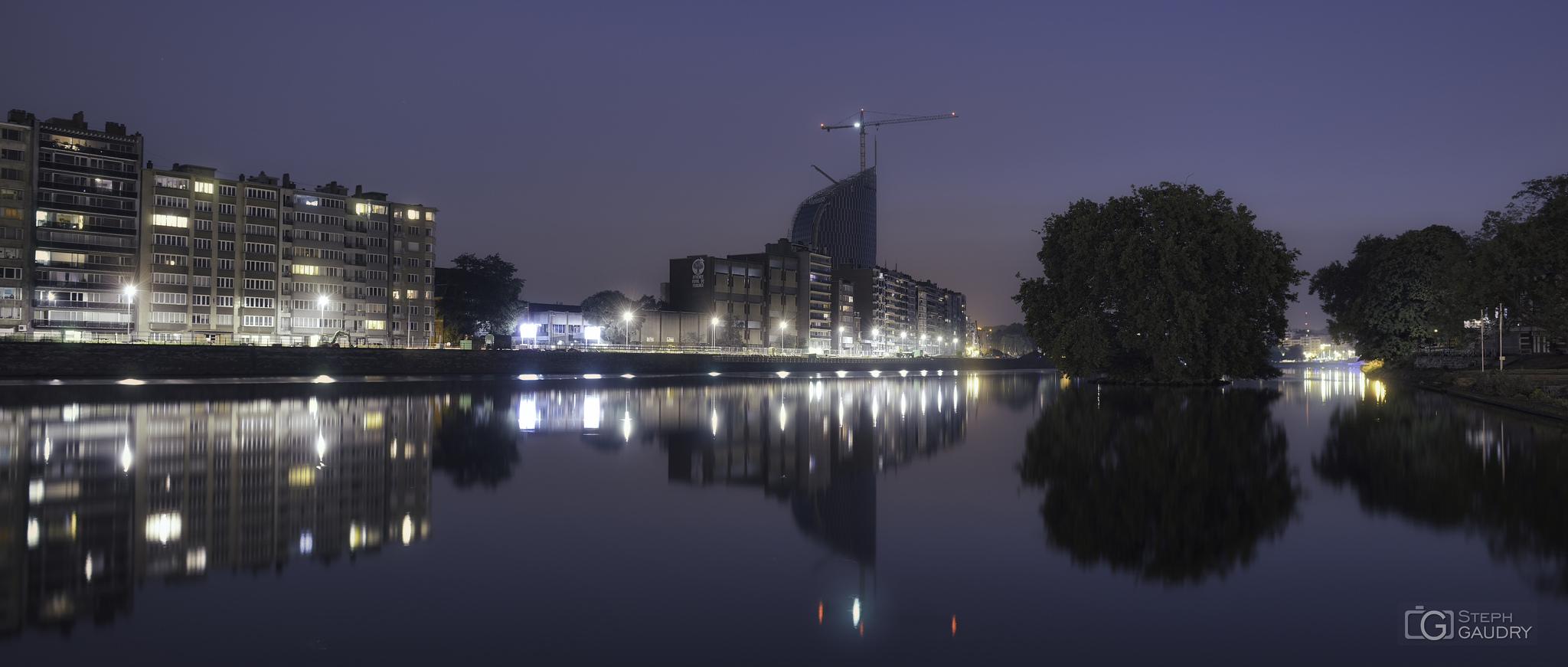 Liège, la tour des finances