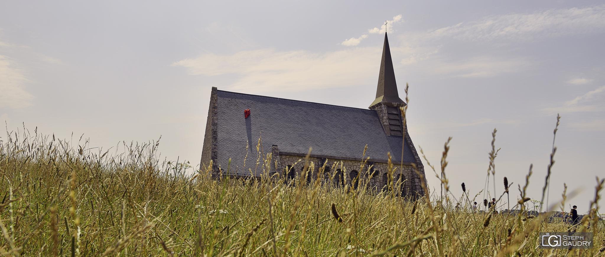 Etretat - chapelle Notre Dame de la Garde - 2018_07_27_134440