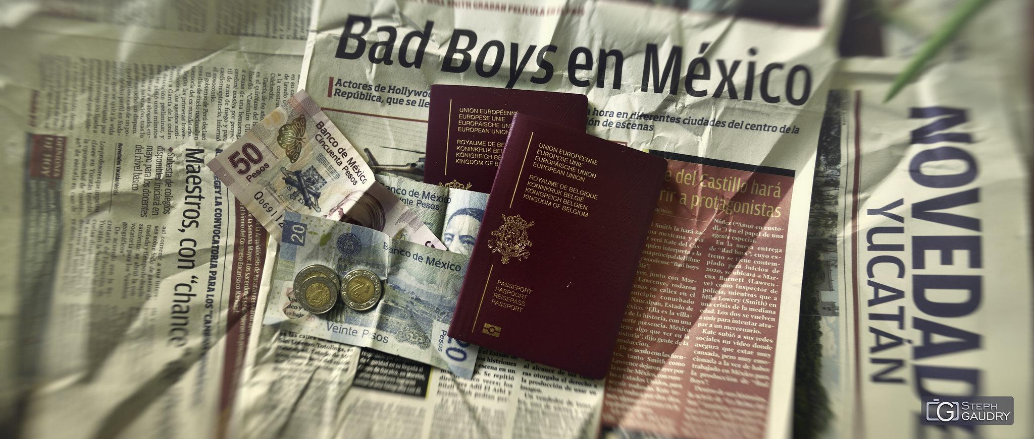 Road trip au Mexique avec mon fils Tom