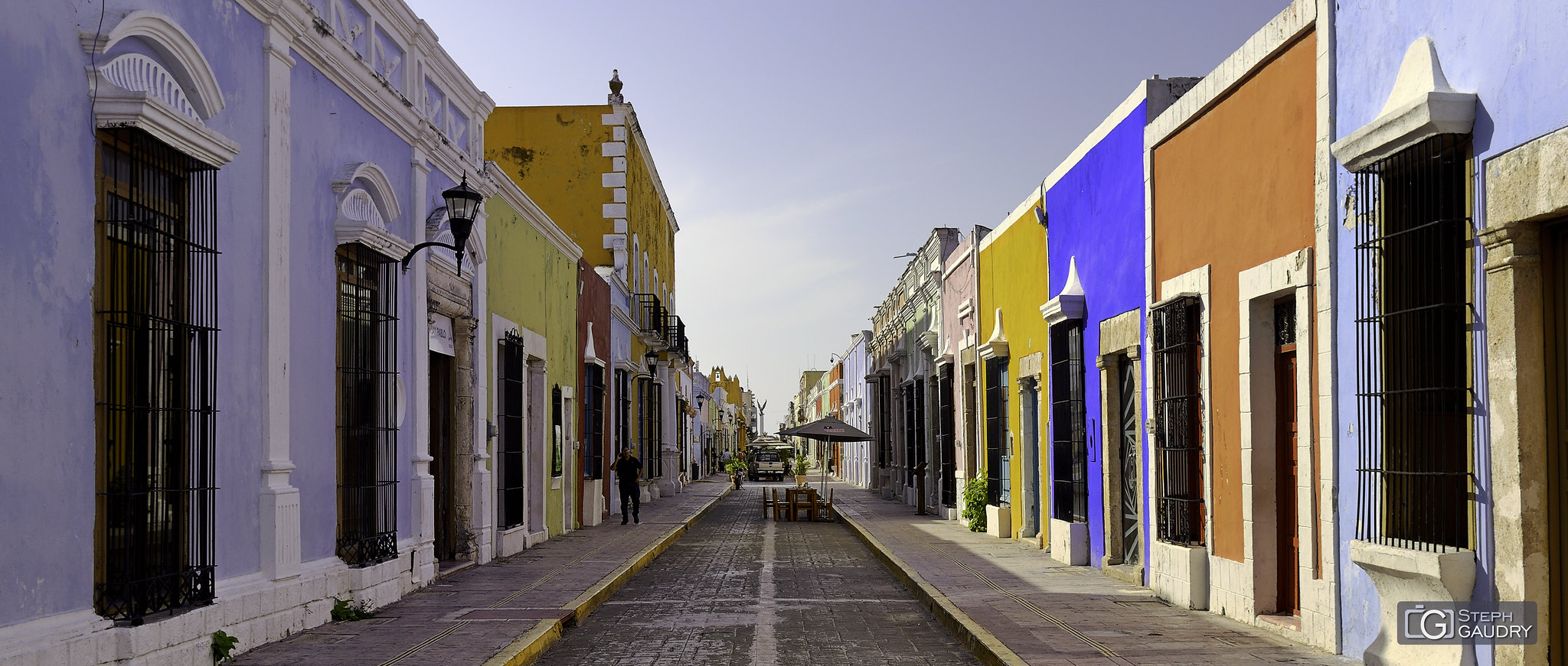 Les rues de Campeche (MEX) [Click to start slideshow]