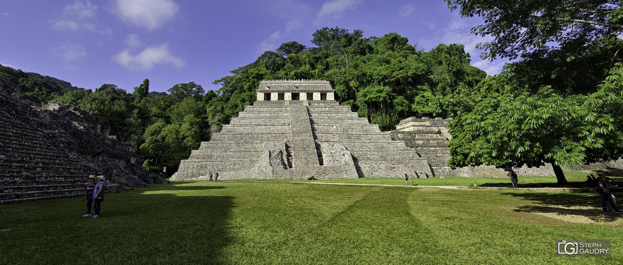 Palenque - Le Temple des Inscriptions [Klicken Sie hier, um die Diashow zu starten]