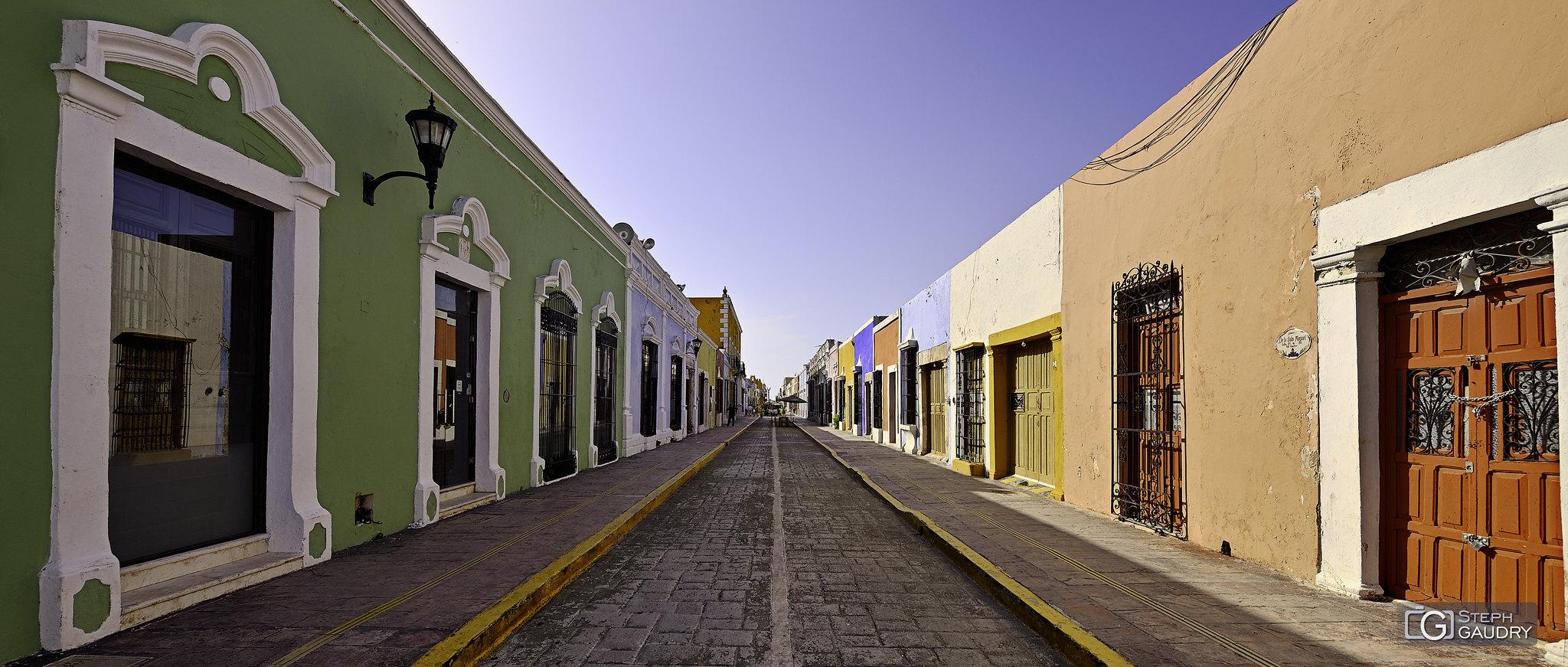 Les couleurs de Campeche...