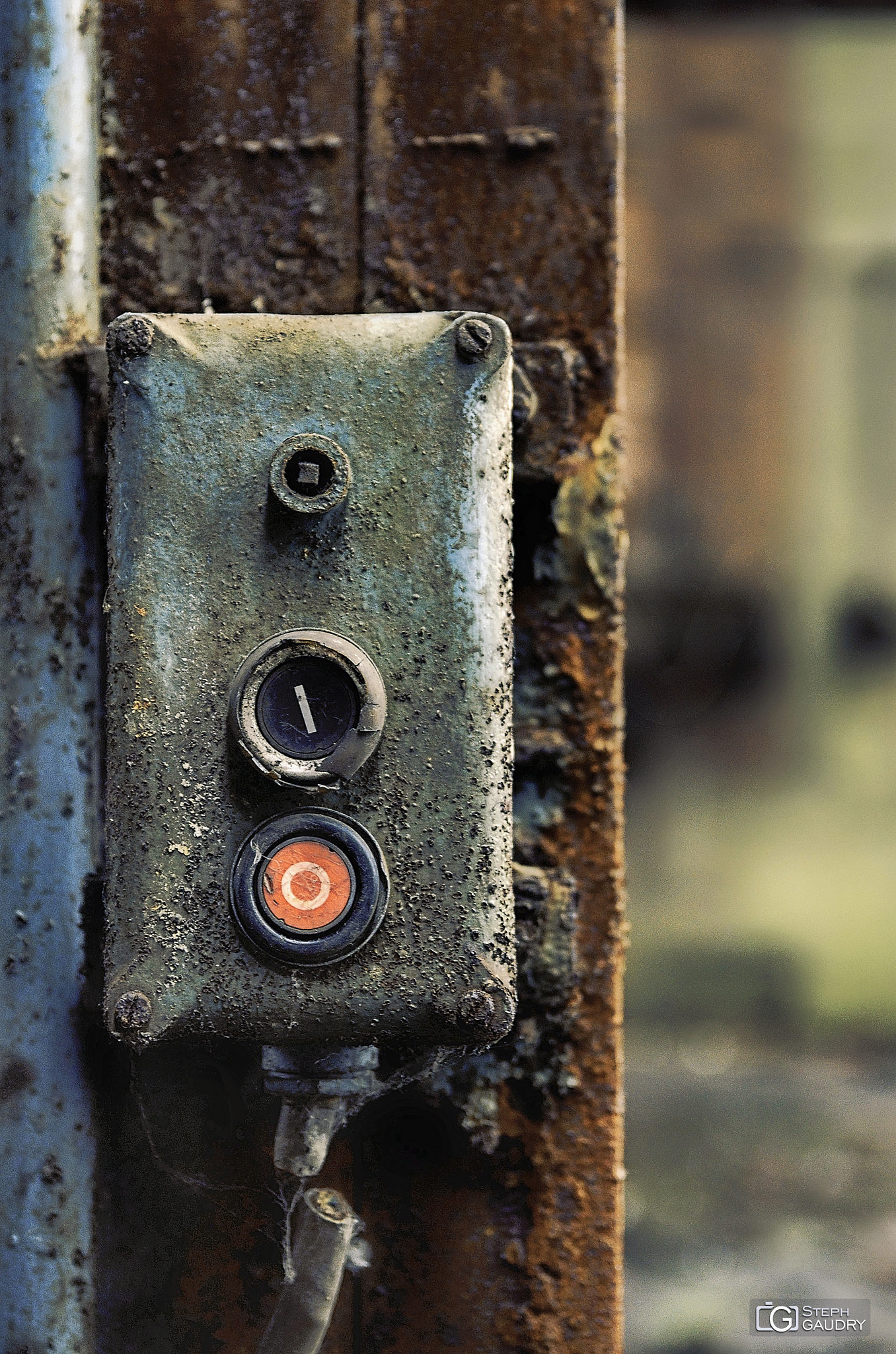 Red rusted switch