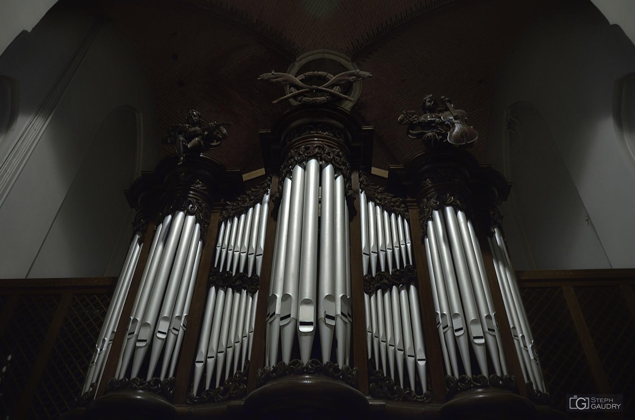 Sint Odulphuskerk - het J.J.Vollebregt-orgel (1852) [Cliquez pour lancer le diaporama]